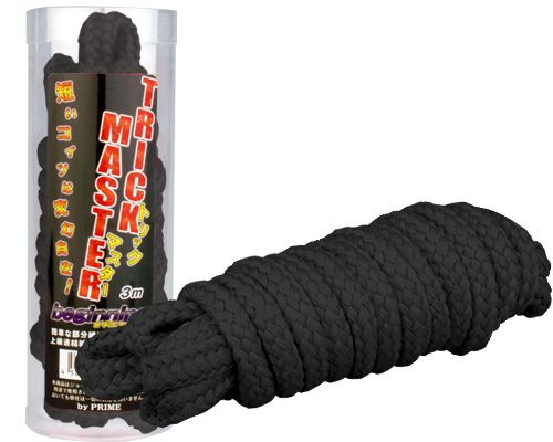 Prime - Trick Master Beginning Rope 3m - Black photo