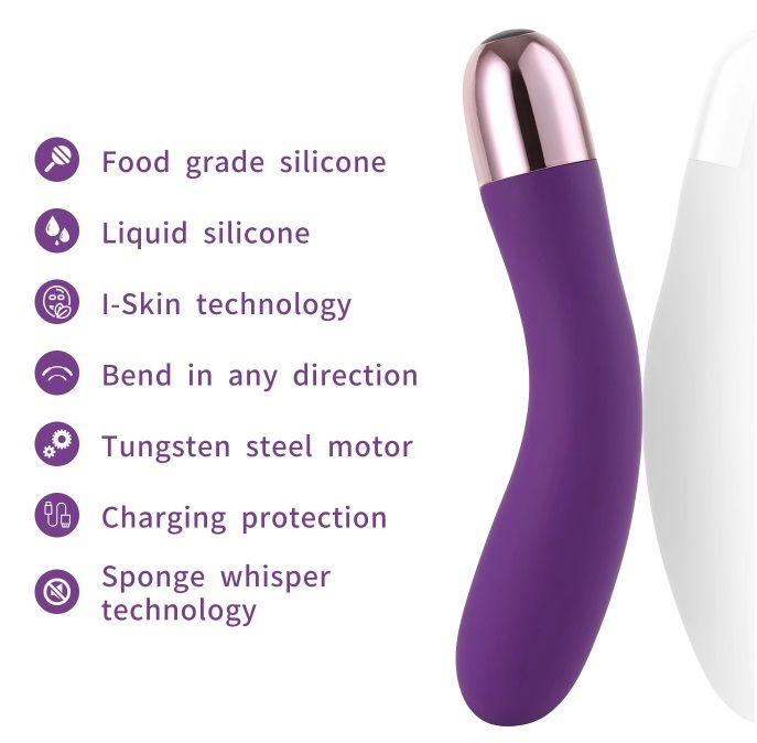 Wowyes - Coco Magnetic Rechearable Vibrator - Purple photo-6