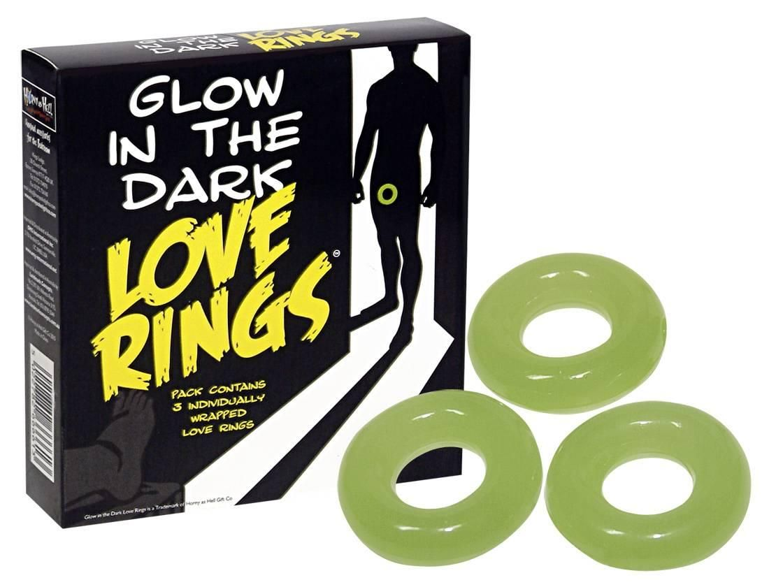 Spencer&Fleetwood - Glow in the Dark Love Rings photo