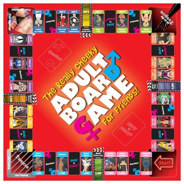 Creative C - Sexopoly - The Really Cheeky Adult Board Game photo-3