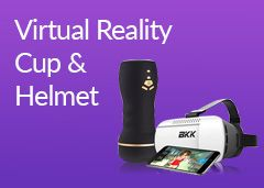 Virtual Reality Cup & Helmet