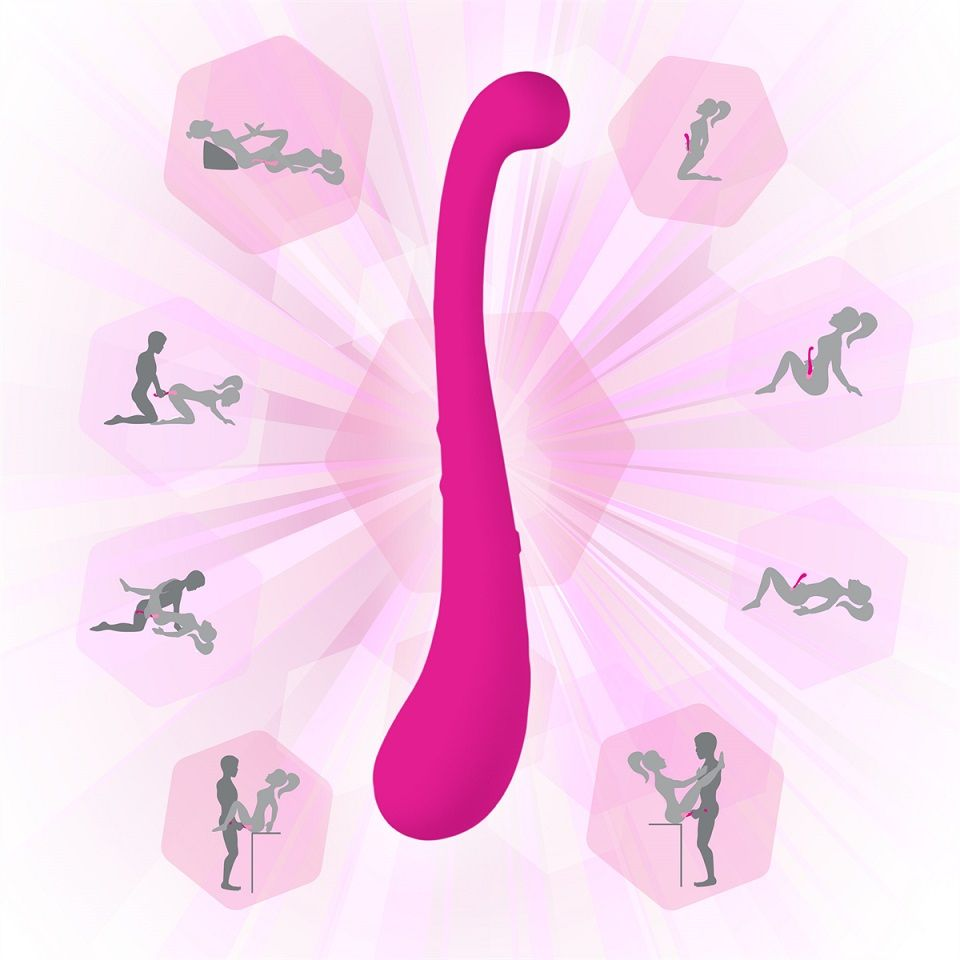 Swan - The Trumpeter Swan Vibrator - Pink photo-6