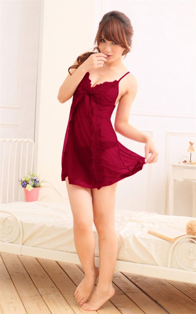SB - Babydoll A152 - Red photo-3