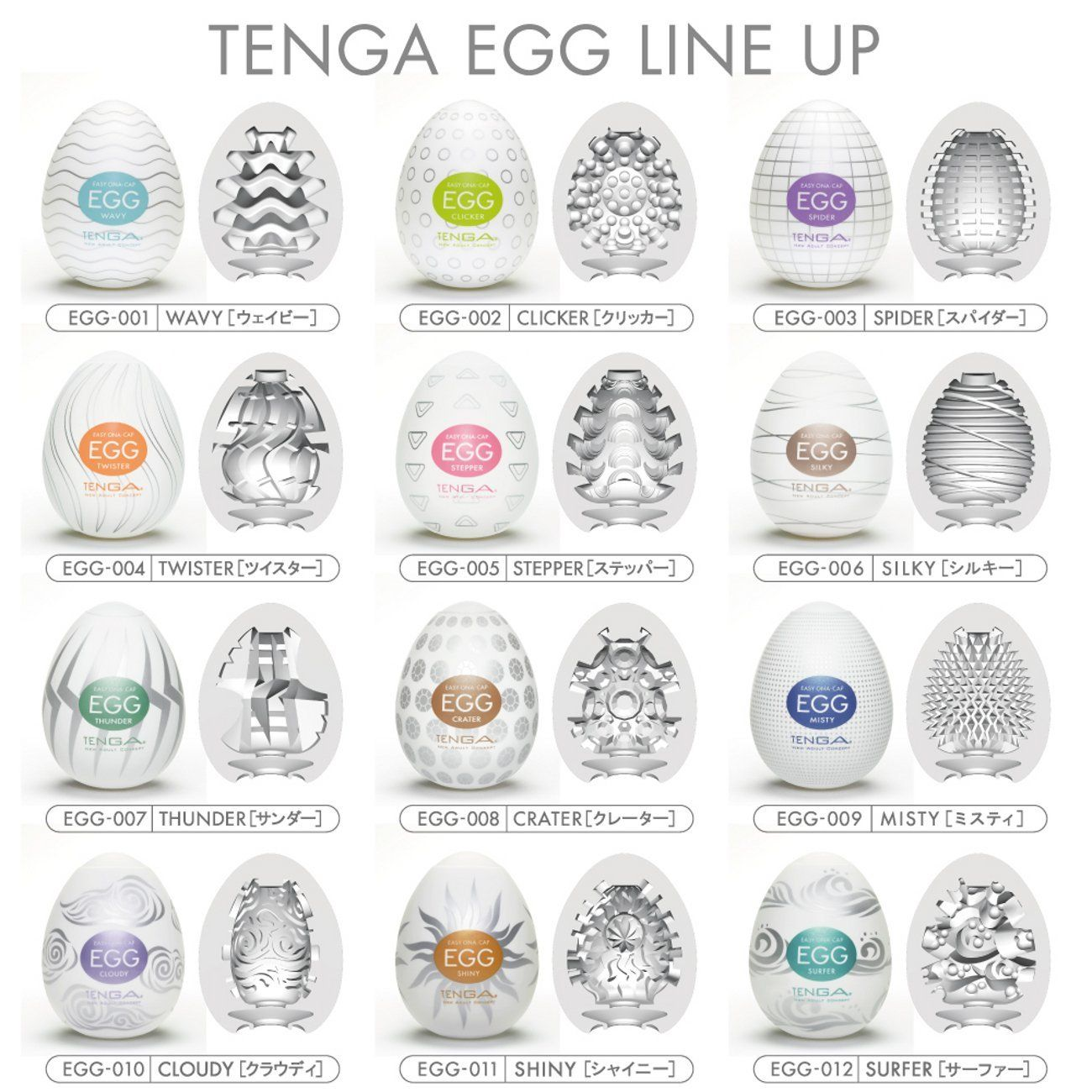 Tenga - Egg Wavy photo-5