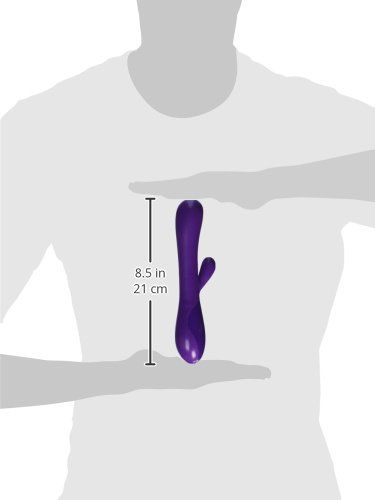 CEN - Body & Soul Kiss Rubbit Vibrator - Purple photo-5