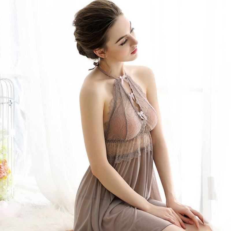 SB - Negligee A342 - Beige photo-5