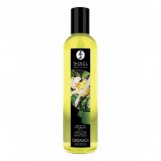 Shunga - Organica Kissable Massage Oil 250ml - Green Tea photo