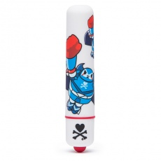 Tokidoki - Mini Bullet Vibrator - White Robot photo