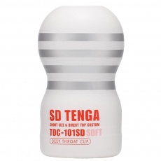 Tenga - SD Soft Deep Throat Mini Cup - White photo