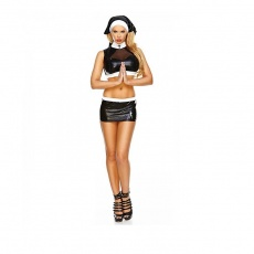 Hustler - 3PC Naughty Nun Costume - SM photo