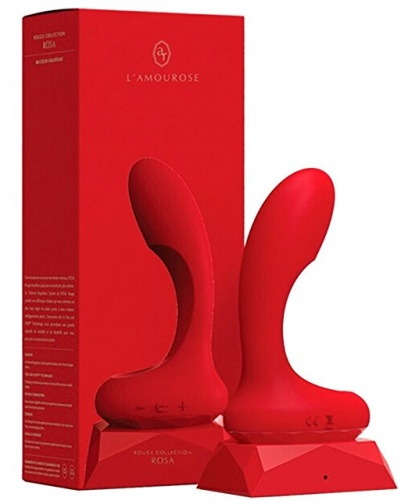 Lamourose - Rosa G-Spot Vibe with Heating - Rogue photo