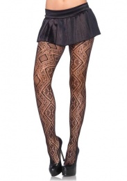 Leg Avenue - Morroccan Diamond Net Pantyhose photo