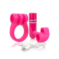 The Screaming O - Charged CombO Kit - Pink photo