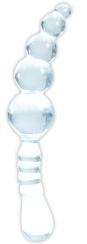 Boss - Crystal Wand Dildo Type B - Clear
