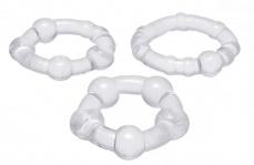 Trinity Vibes - Performance Erection Rings - Clear photo