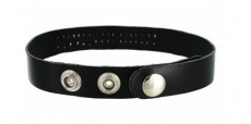 Strict Leather - Leather ID Collar Bitch - Black photo