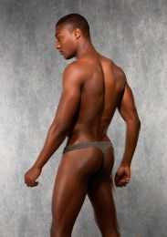 Doreanse - Men's G-String - Grey - S photo
