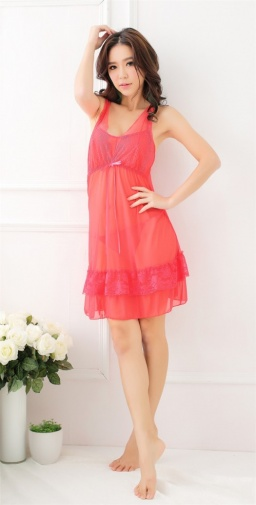 SB - Babydoll A299 - Red photo