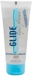 Hot - Glide Liquid Pleasure Lube - Water-Based - 100ml photo