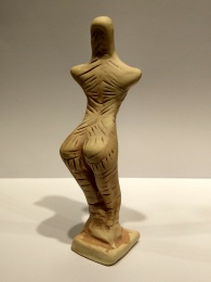 Trypillian Goddess Standing Copy (Cucuteni-Tripolie (Trypilian) Civilization 5000-3500 BC) photo