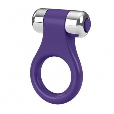 Ovo - B1 Vibrating Ring - Lilac Chrome photo