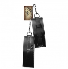 Sportsheets - Edge Leather Arm Restraints - Black photo