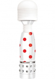 Bodywand - Mini Dots Massager - Wht/Red photo