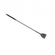 GreyGasms - Leather Riding Crop - Grey