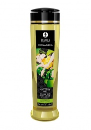 Shunga - Organica Kissable Massage Oil Green Tea - 240ml photo