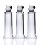 Size Matters - Clit and Nipple Cylinders Set 3 - Clear