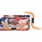 Nasstoys - All American Whoppers Xzzxtreme Vibrating & Fully Bendable Double Dong - Flesh