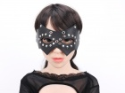 MT - Leather Mask 3 - Black