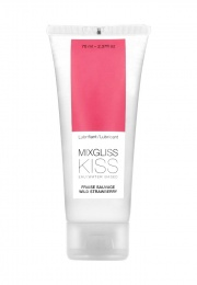 Mixgliss - Kiss Water-Based Lube Wild Strawberry - 70ml 照片