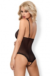 Obsessive - 839-TED-1 teddy - Black - S/M photo