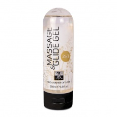 Shiatsu - Massage & Glide Gel 2 in 1 - 200ml photo
