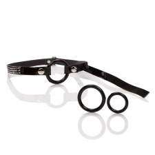 CEN - Open Ring Gag - Black