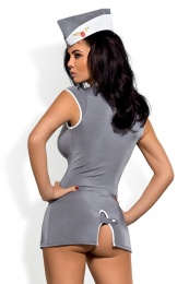 Obsessive - Stewardess Costume - Gray - XXL
