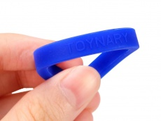 Toynary - CR02 Cock Rings - Blue photo