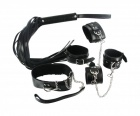 Strict - 7 Piece Bondage Adventure Set - Black