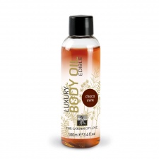 Shiatsu - Luxury Edible Body Oil - Chocolate-Mint 100ml
