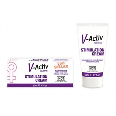 Hot - Women V-Activ Stimulation Cream - 50ml photo