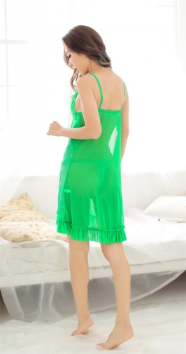 SB - Negligee A287 - Green photo