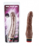 "Chisa - 7.6"" Vibe Cock - Brown"