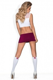 Obsessive - Student Costume 4 pcs - S/M photo