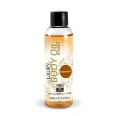 Shiatsu - Luxury Edible Body Oil - Cinnamon 100ml photo