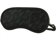 Sportsheets - Midnight Lace Blindfold - Black photo