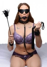 Frisky - Tame Me 8 Piece Beginner Bondage Set - Black photo