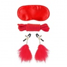 Fetish Fantasy - Lovers Bondage Kit - Red