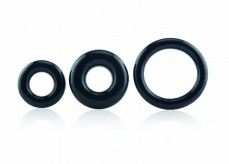 The Screaming O - RingO 3 Pack - Black photo