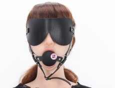 MT - Blindfold with Ball Gag photo
